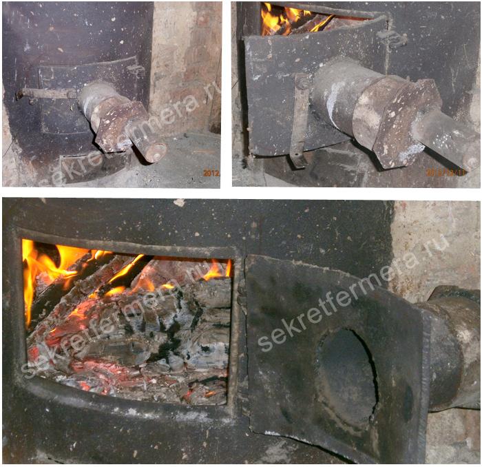 Как сделать в курятнике печку