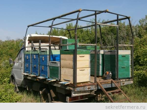 Газель для перевозки пчел